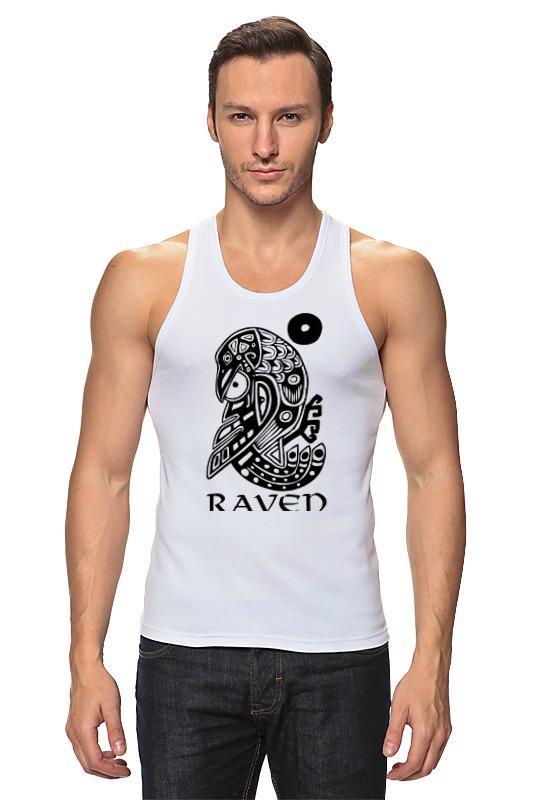 Майка классическая Printio Raven brand