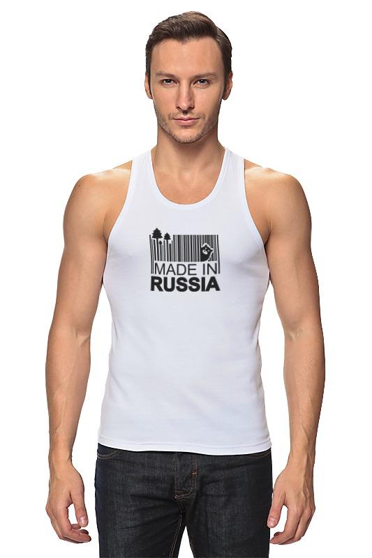 Майка классическая Printio Made in russia майка борцовка print bar russia nebula