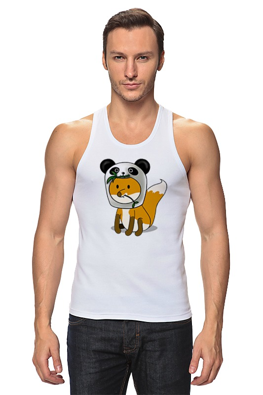 Майка классическая Printio Лисенок панда майка классическая printio с пандой