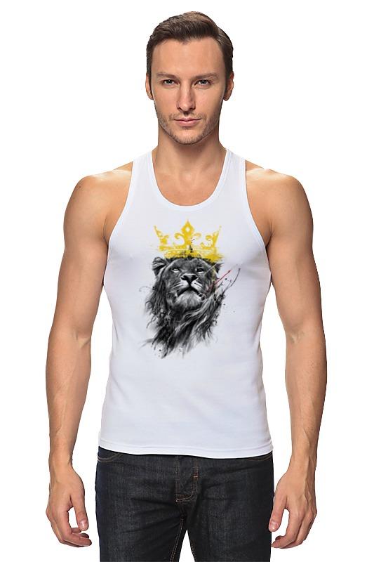 Майка классическая Printio Король лев