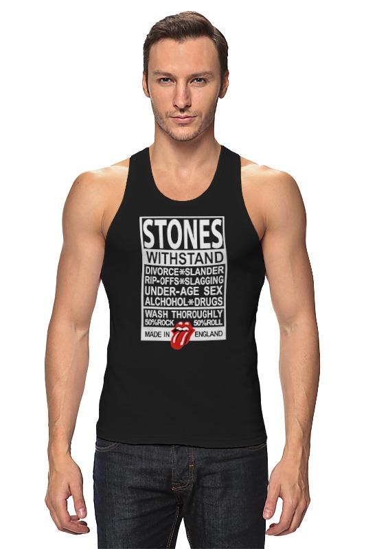 Майка классическая Printio The rolling stones футболка классическая printio mick jagger the rolling stones
