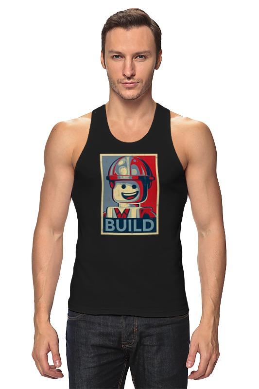 Майка классическая Printio Лего строитель детское лего gudi