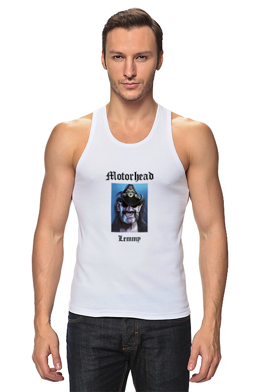 Майка классическая Printio Motorhead - lemmy kilmister футболка wearcraft premium printio lemmy kilmister motorhead