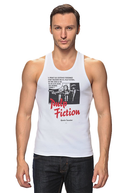 Майка классическая Printio Pulp fiction худи print bar pulp fiction