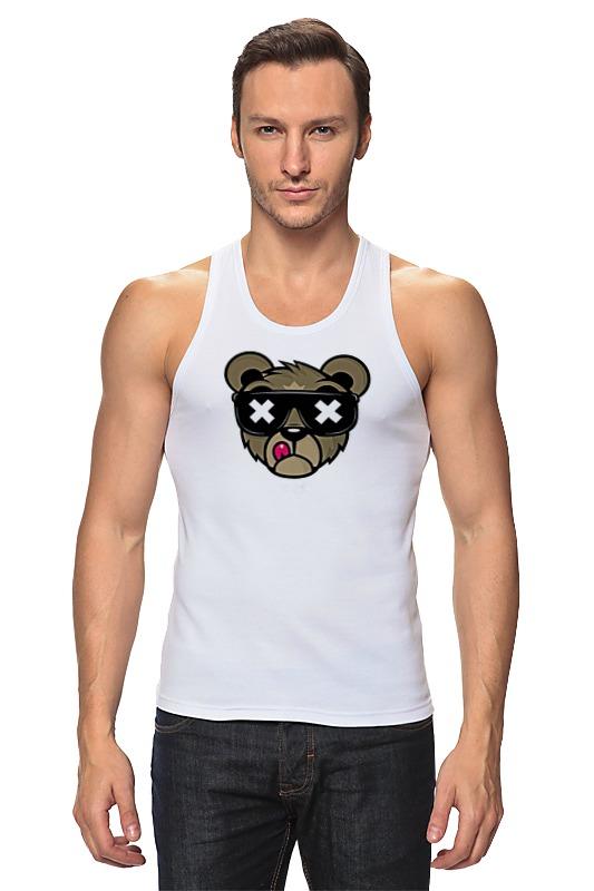 Printio Медведь,оригинальный дизайн майка классическая printio горный медведь
