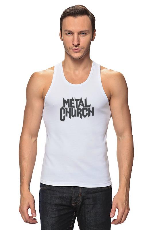 Майка классическая Printio Metal church виниловая пластинка metal church metal church