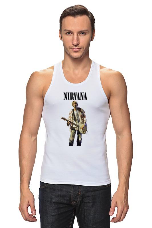 лучшая цена Майка классическая Printio Nirvana