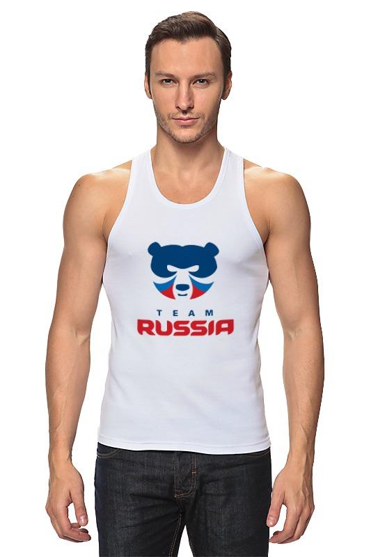 Майка классическая Printio Russia team майка print bar subaru team russia