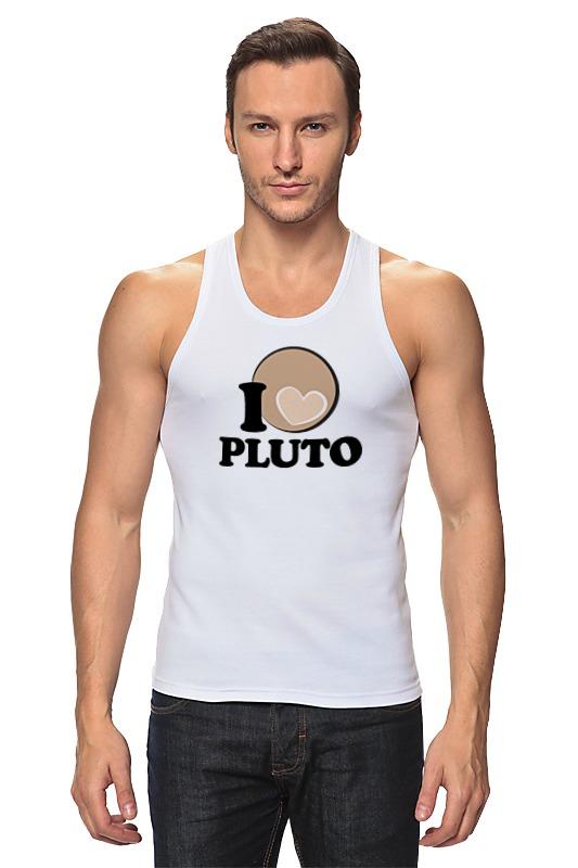 Майка классическая Printio Плутон (pluto) планета на которой убивают