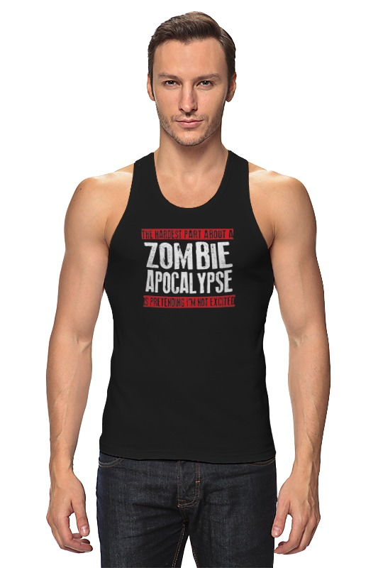 Майка классическая Printio Zombie apocalypse