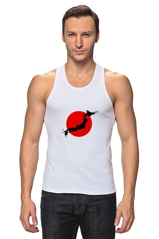 Майка классическая Printio Остров япония уют 100х175 япония белый