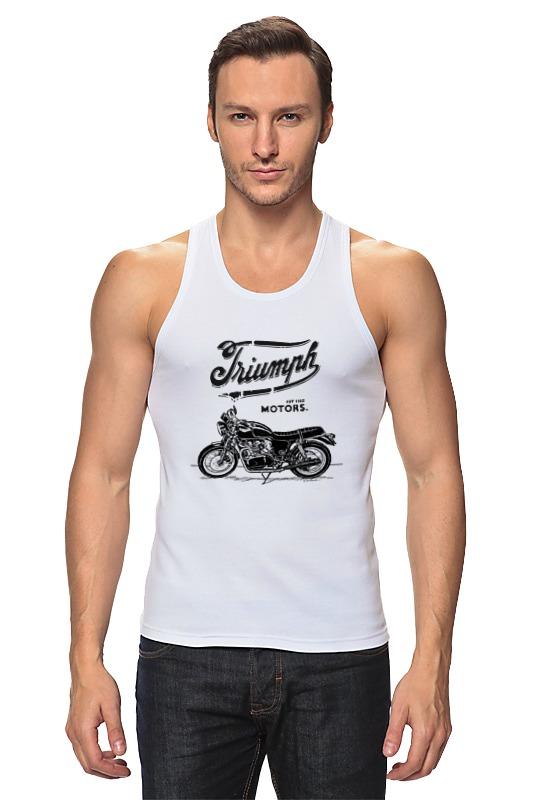 Майка классическая Printio Triumph motorcycles футболка wearcraft premium printio triumph motorcycles