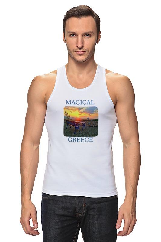 Майка классическая Printio Магическая греция белье gezanne шорты магическая волна l