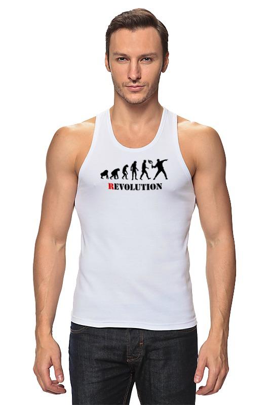 Майка классическая Printio Evolution - revolution футболки и топы coccodrillo футболка для мальчика bip bip l18143202bip