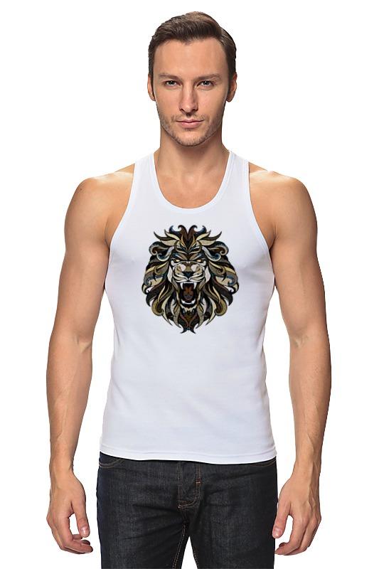 Майка классическая Printio Рычащий лев детская футболка классическая унисекс printio рычащий лев