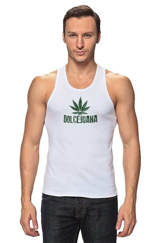 Майка классическая Printio Марихуана дольчехуана handbook of cannabis