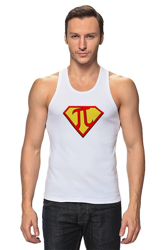 Майка классическая Printio Супер пи (super pi) футболка классическая printio супер пи мен