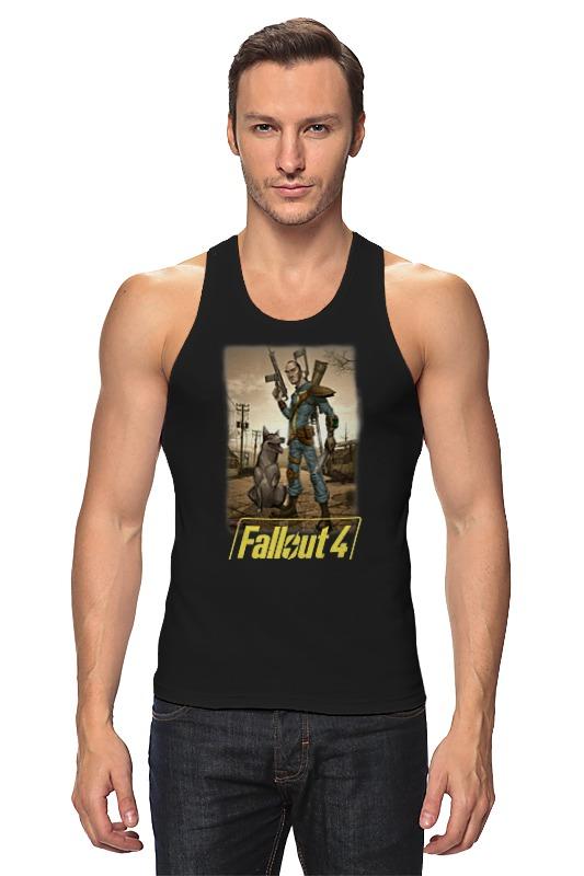 Майка классическая Printio Fallout 4 футболка классическая printio fallout фэллаут