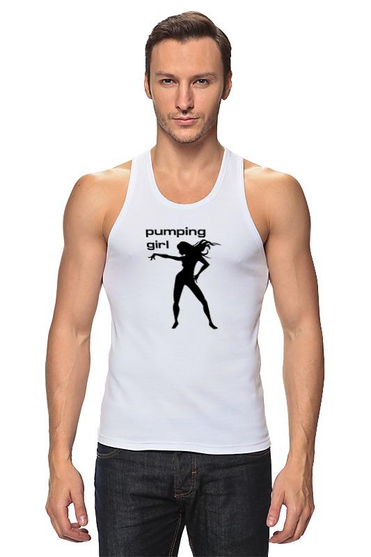 Майка классическая Printio Pumping girl #1 майка борцовка print bar house stark