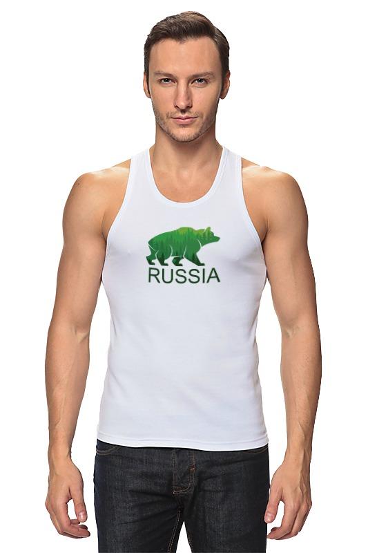 Майка классическая Printio Россия, russia