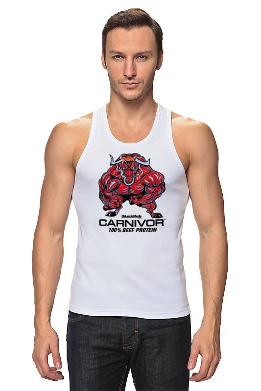Майка классическая Printio Bull bodybuilder цена