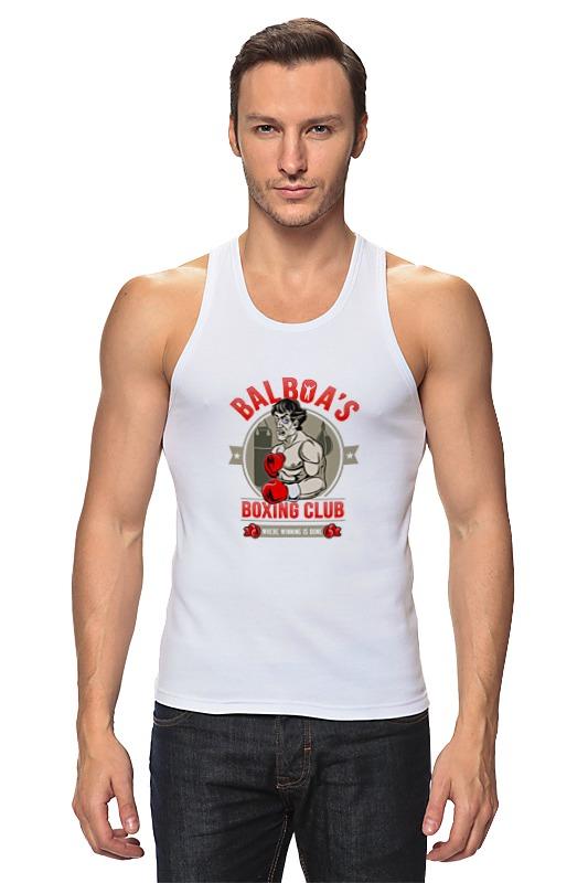 Майка классическая Printio Balboa's boxing club ароматизатор auto standart boxing club экзотика