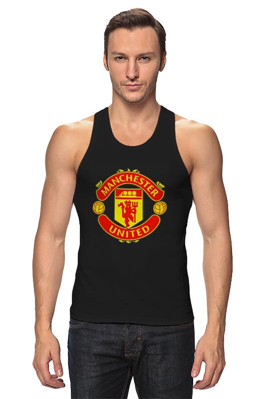 Майка классическая Printio Manchester united футбольная форма top thai manchester united 2014 15 n98 jacket chelsea