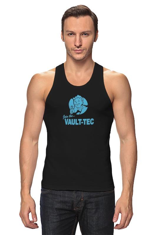 Майка классическая Printio Fallout  vault-tec футболка классическая printio fallout фэллаут