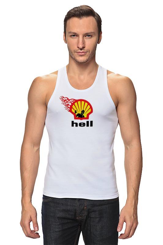 Майка классическая Printio Shell/hell bprd hell on earth v 7