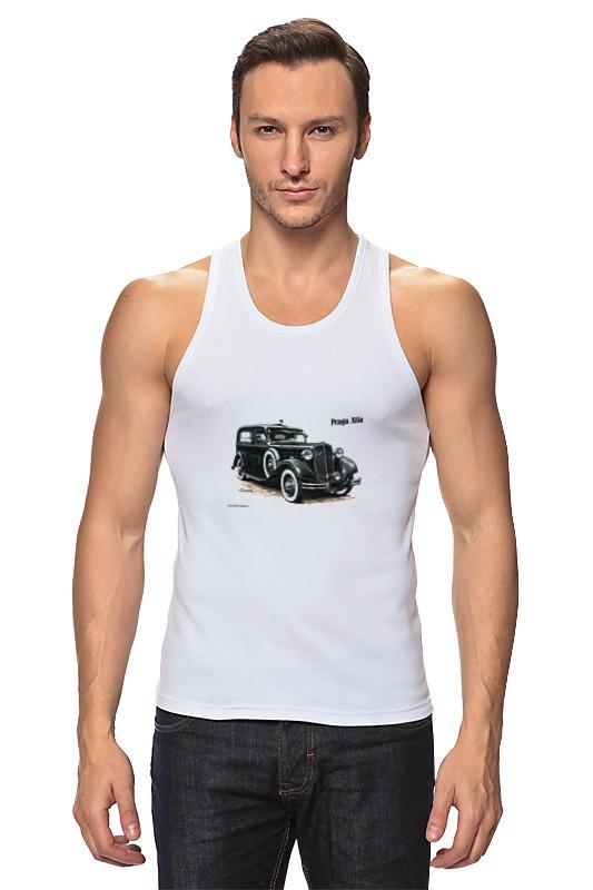 Фото - Майка классическая Printio Ретроавтомобили 3 футболка классическая printio ретроавтомобили 3