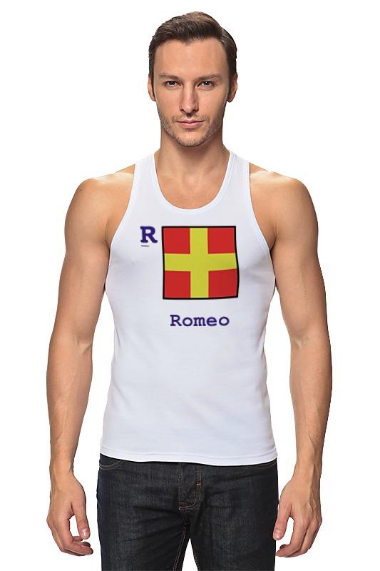 Майка классическая Printio Romeo (r), флаг мсс (eng) oom control for eng lenses