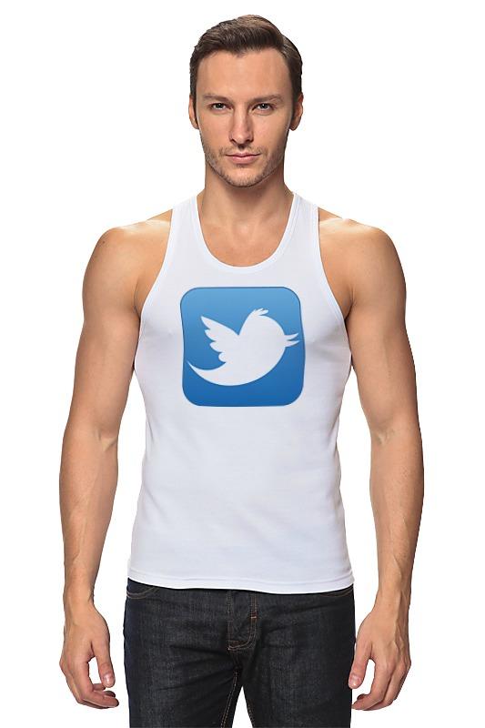 Майка классическая Printio Twitter laura fitton twitter for dummies