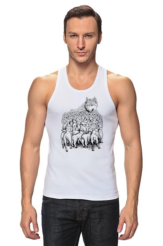 Майка классическая Printio Волк в овечьей шкуре куликова г кто не спрятался тот виноват или витязь в овечьей шкуре