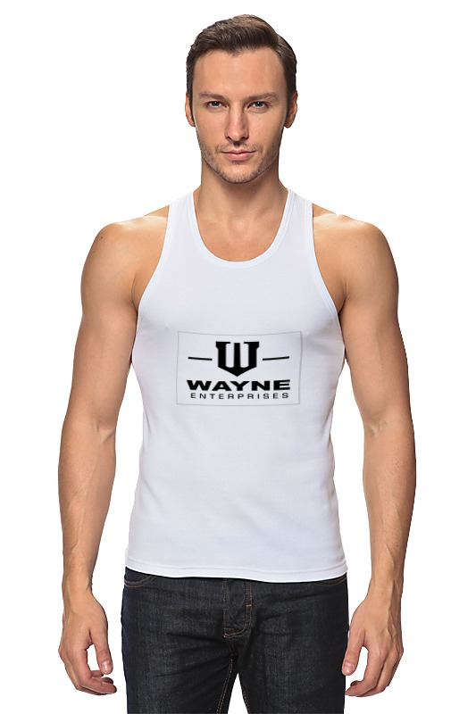 Майка классическая Printio Wayne enterprises футболка рингер printio wayne enterprises