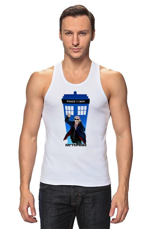 Майка классическая Printio Доктор кто (doctor who) футболка рингер printio доктор кто doctor who