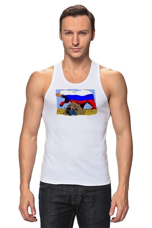 цена на Printio Русский медведь в сирии