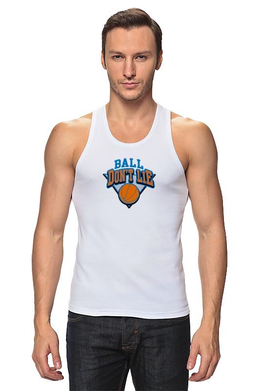 Майка классическая Printio Баскетбольный мяч планшет тренера баскетбольный маркер стираемый в комплекте