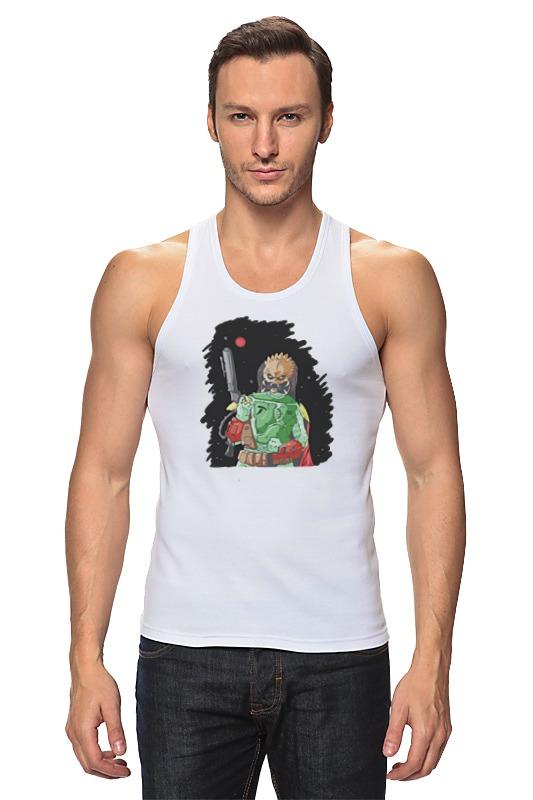 Майка классическая Printio Хищник х боба фетт футболка классическая printio хищник х боба фетт