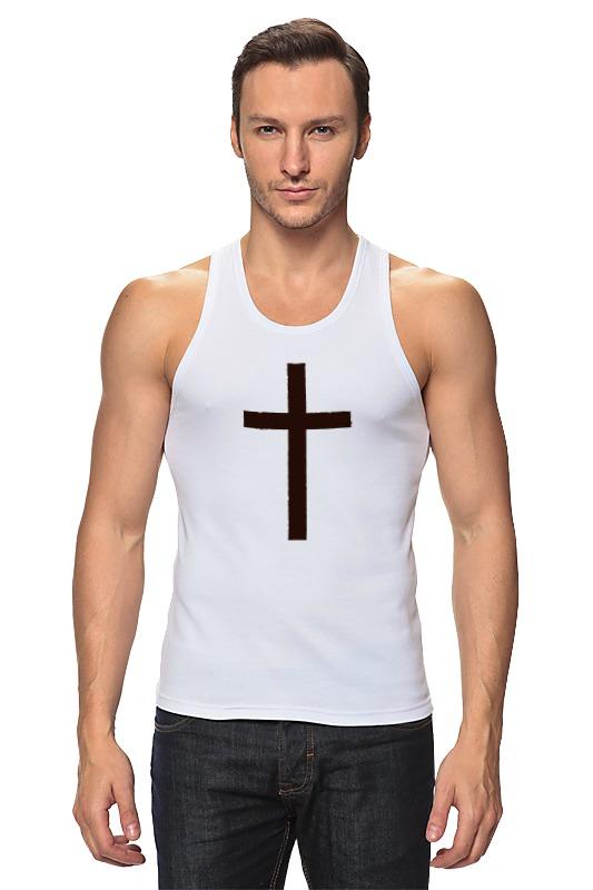 Майка классическая Printio Крест лонгслив printio армянский крест