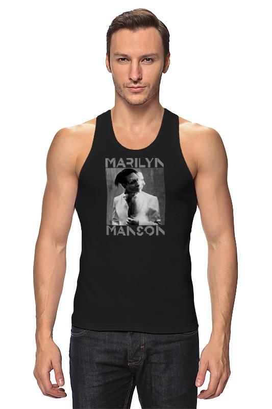 Майка классическая Printio Marilyn manson майка print bar marilyn manson