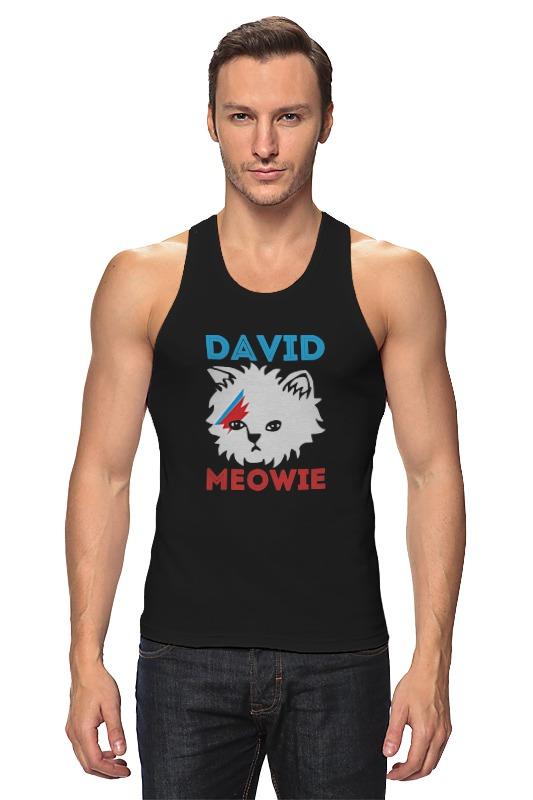 Майка классическая Printio David bowie майка борцовка print bar david bowie