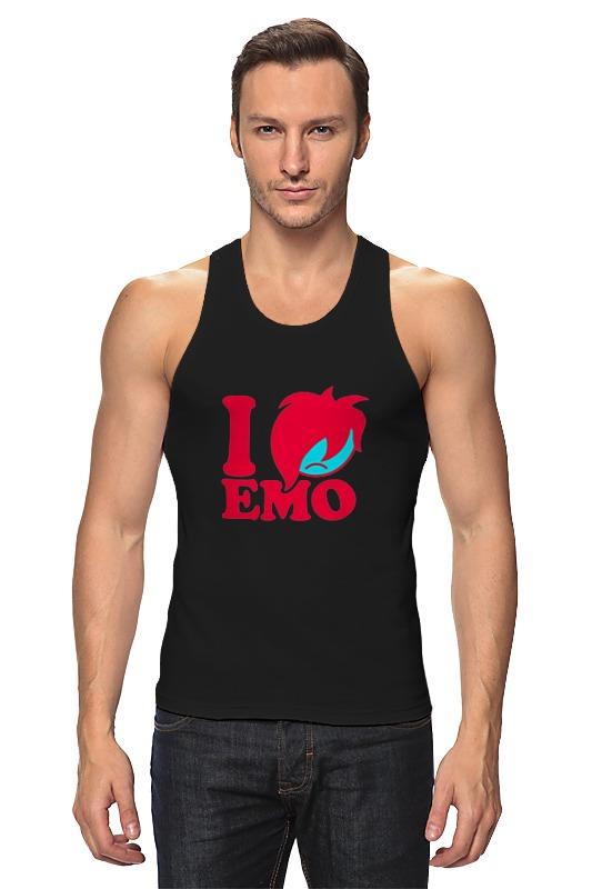 Printio Я люблю эмо книга эмо бой