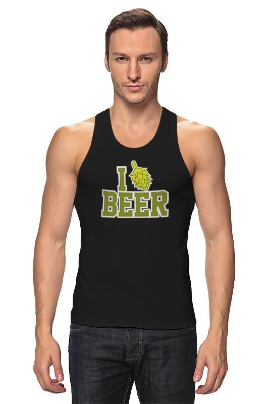 Майка классическая Printio Люблю пиво цена