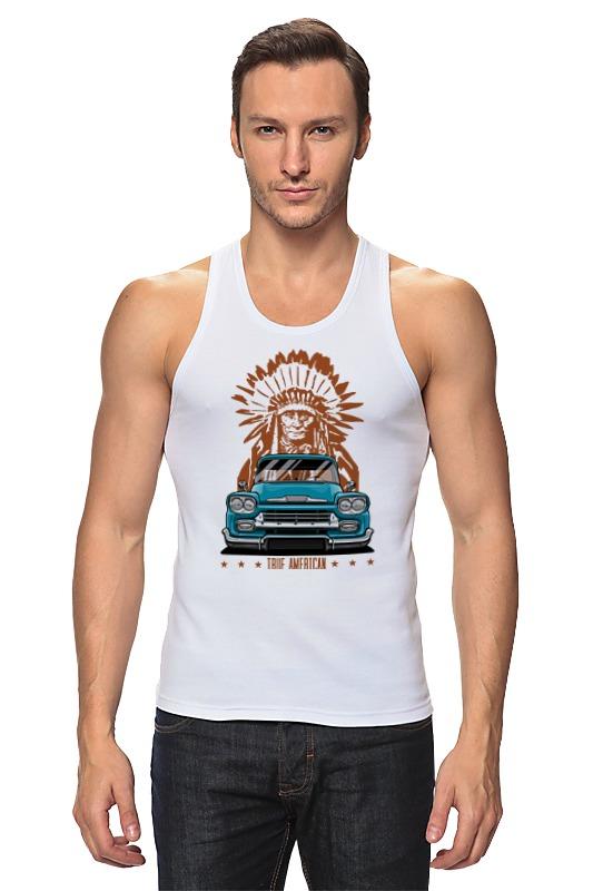 Майка классическая Printio Chevy apache pickup truck ultra loud bicycle air horn truck siren sound 120db