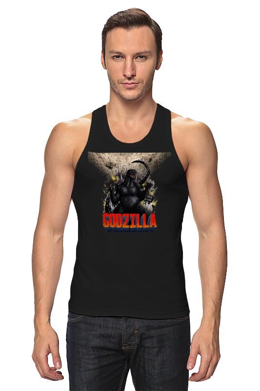 Майка классическая Printio Godzilla