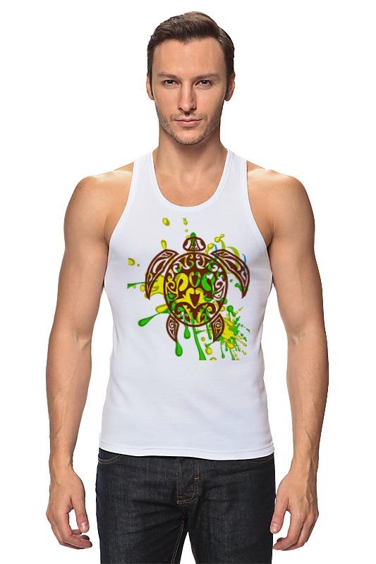 Майка классическая Printio Морская черепашка 212356 футболка wearcraft premium printio морская черепашка 212356