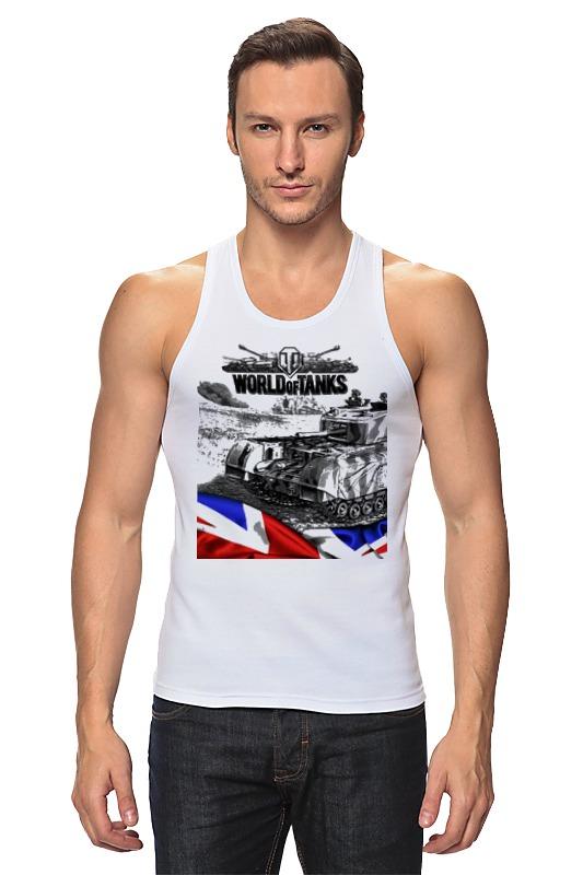 Майка классическая Printio World of tanks аниме футболки шляпы одежда iw innocent world
