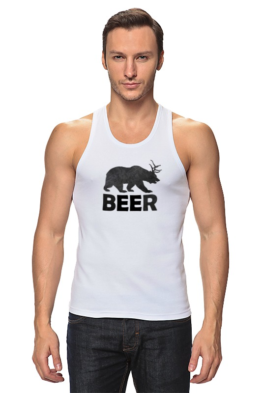 Фото - Майка классическая Printio Beer (bear) удочка зимняя swd ice bear 60 см