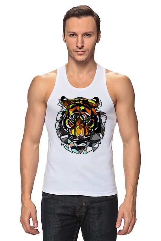 Майка классическая Printio Морда тигра детская футболка классическая унисекс printio морда тигра