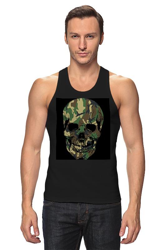 Майка классическая Printio Skull - 11 fashionable punk style skull pendant necklace